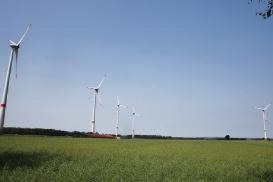 Wind farm Niedernstöcken